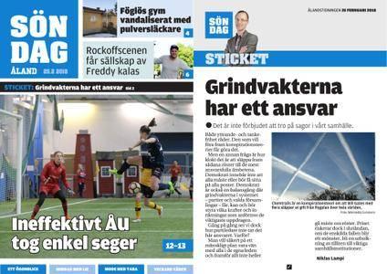 Ålandstidningen – 25 februari 2018