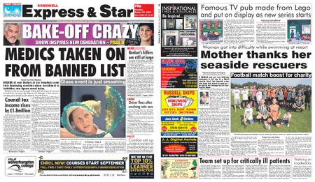 Express and Star Sandwell Edition – August 27, 2019