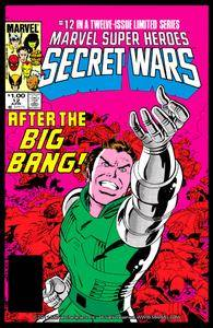 Captain America v1 292m Marvel Super Heroes Secret Wars 12