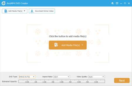 AnyMP4 DVD Creator 7.2.30 Multilingual + Portable