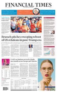 Financial Times Europe - November 30, 2020