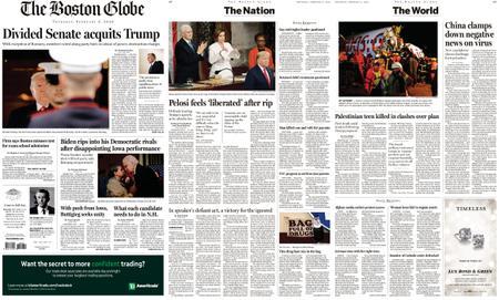 The Boston Globe – February 06, 2020