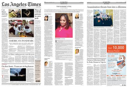 Los Angeles Times – November 30, 2020