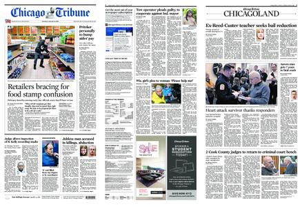 Chicago Tribune – January 12, 2019