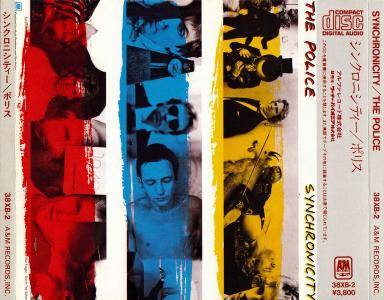 The Police - Synchronicity (1983) {Japan 1 st Press}