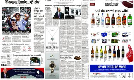 The Boston Globe – February 03, 2019