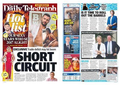 The Daily Telegraph (Sydney) – December 09, 2017