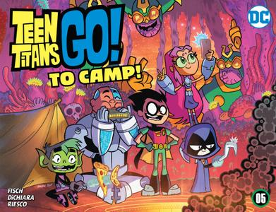 Teen Titans Go! To Camp 005 2020 digital Son of Ultron