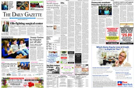 The Daily Gazette – November 29, 2018