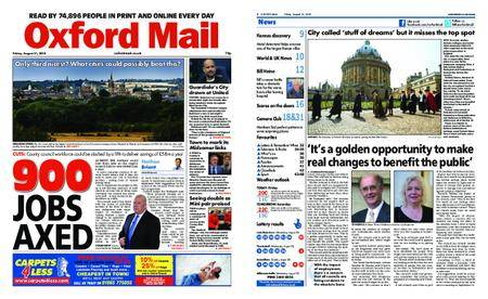 Oxford Mail – August 31, 2018