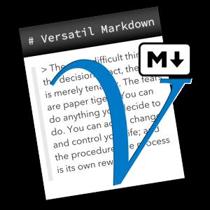 Versatil Markdown 2.0.50