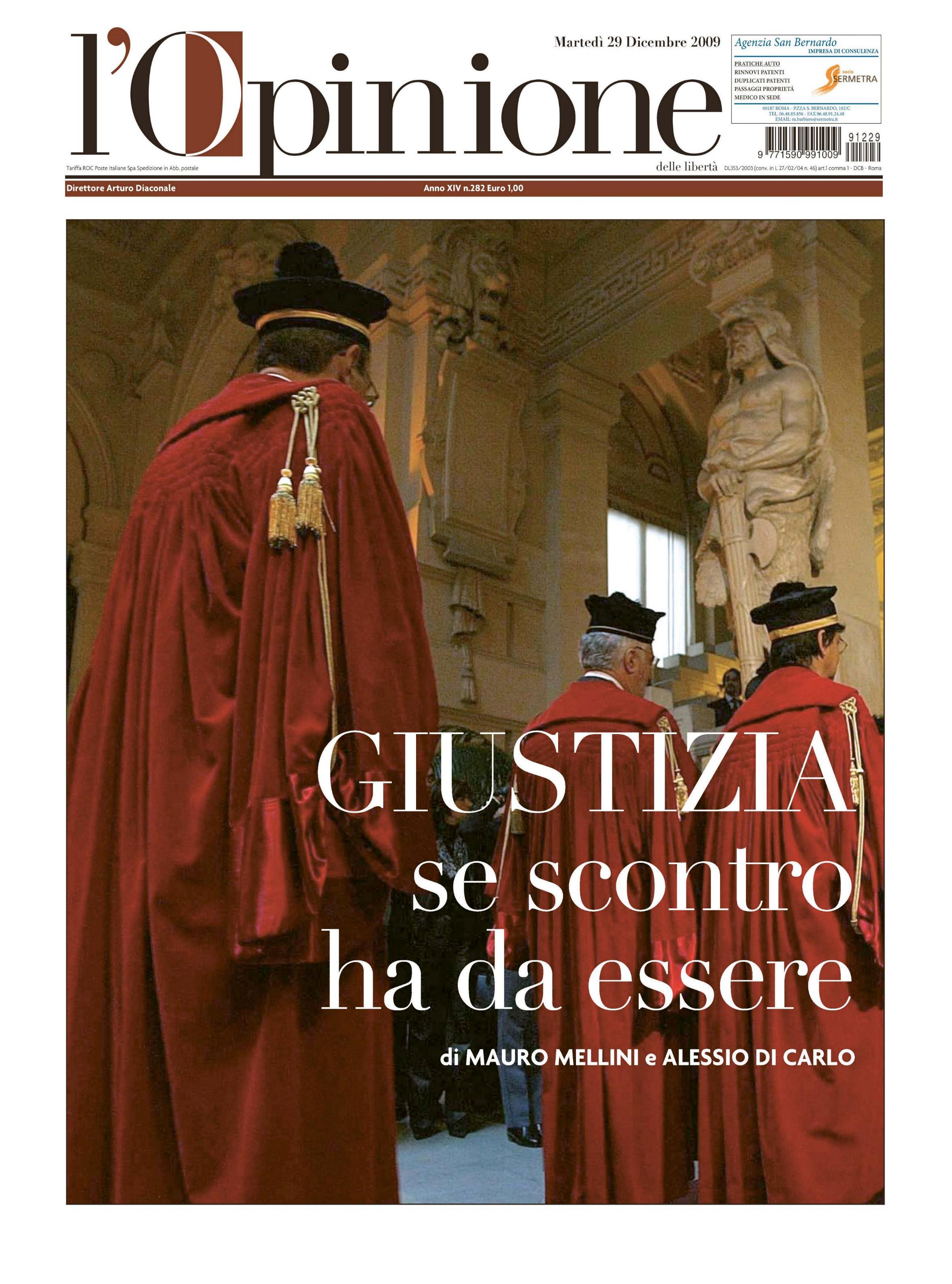 L'Opinione 29.12.2009