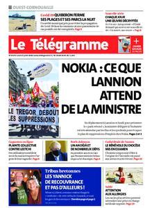 Le Télégramme Ouest Cornouaille – 27 juillet 2020