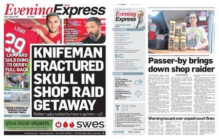 Evening Express – August 31, 2018