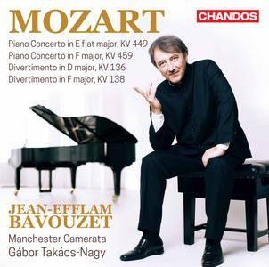 Jean-Efflam Bavouzet, Manchester Camerata & Gábor Takács-Nagy - Mozart: Piano Concertos, Vol. 2 (2017)