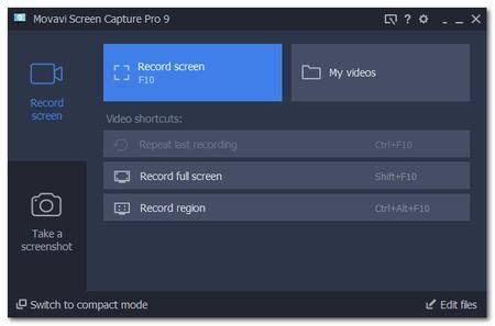 Movavi Screen Capture Pro 9.4.0 DC 21.05.2018 Multilingual