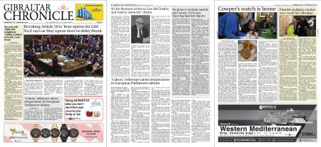 Gibraltar Chronicle – 27 February 2019