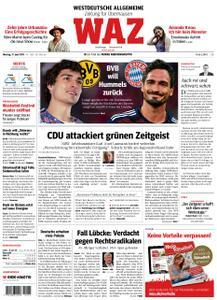 WAZ Westdeutsche Allgemeine Zeitung Oberhausen-Sterkrade - 17. Juni 2019