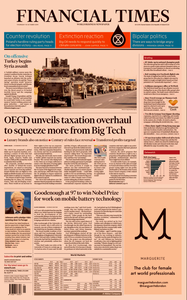 Financial Times UK – 10 October 2019