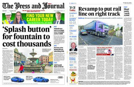 The Press and Journal Moray – October 20, 2017