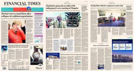 Financial Times Europe – 21 November 2017