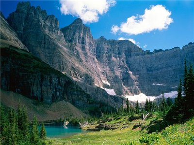 Collection of the National park of the USA