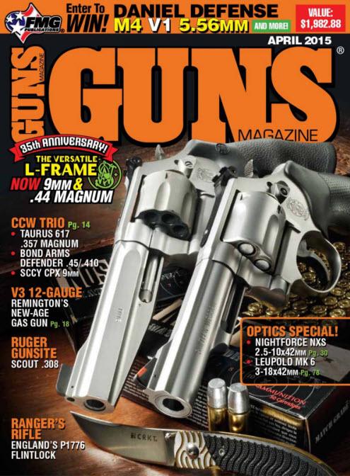 Guns Magazine - April 2015