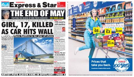 Express and Star Sandwell Edition – May 24, 2019