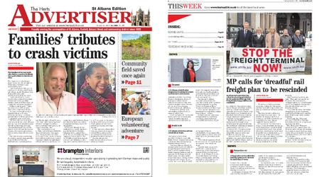 The Herts Advertiser – October 31, 2019