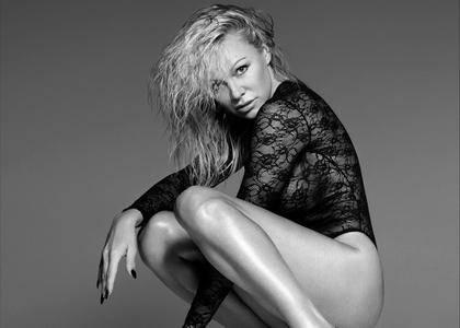 Pamela Anderson - Coco de Mer Lingerie Collection April 2017