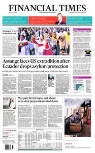 Financial Times UK – April 12, 2019