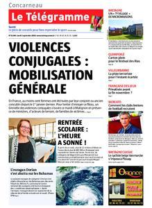 Le Télégramme Concarneau – 02 septembre 2019