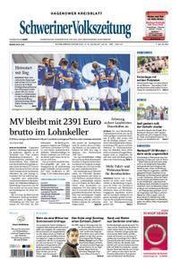 Schweriner Volkszeitung Hagenower Kreisblatt - 04. August 2018