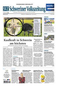 Schweriner Volkszeitung Hagenower Kreisblatt - 08. Februar 2019