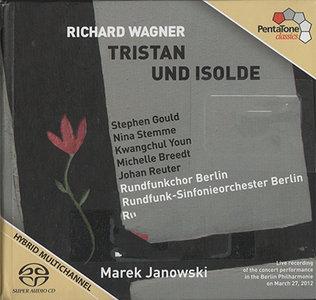 Wagner - RSO Berlin / Marek Janowski - Tristan & Isolde (2012, Pentatone # PTC 5186 404) {3x Hybrid-SACD // EAC Rip} [RE-UP]