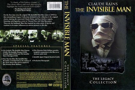The Invisible Man - The Legacy Collection (1933) [ReUP 2018]