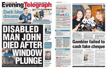 Evening Telegraph First Edition – March 26, 2018
