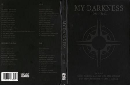 Before The Dawn, Black Sun Aeon, Dawn Of Solace - My Darkness 1999-2013 - The Best Of (2015) [3CD + DVD]