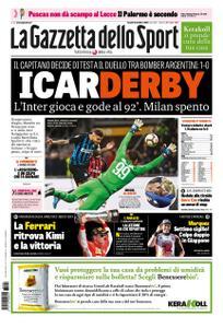 La Gazzetta dello Sport Sicilia – 22 ottobre 2018