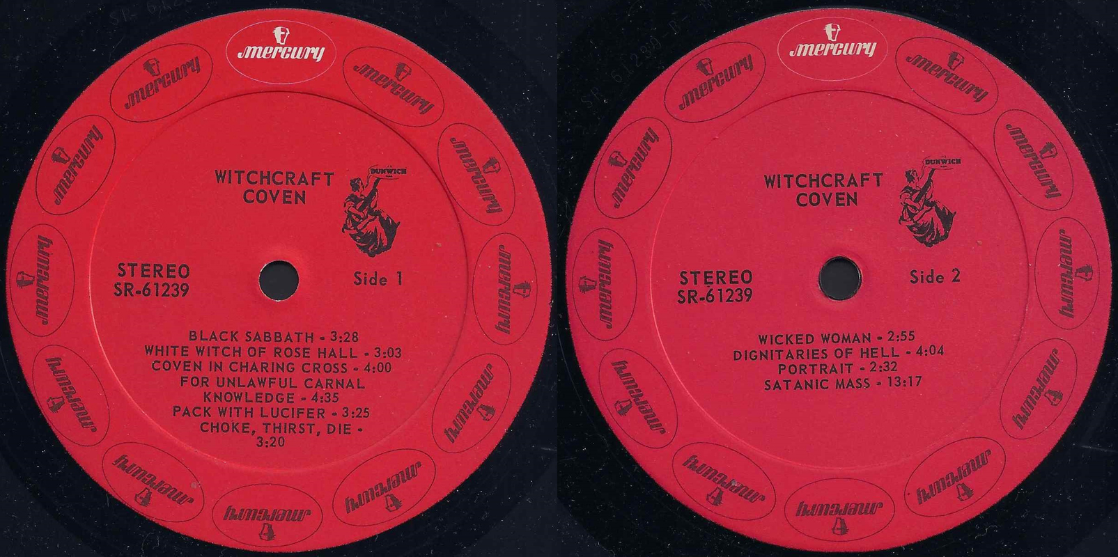 Coven - Witchcraft Destroys Minds And Reaps Souls (1969) [Vinyl Rip