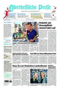 Oberhessische Presse Marburg/Ostkreis - 07. August 2018