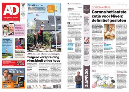 Algemeen Dagblad - Delft – 02 april 2020