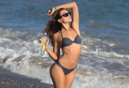 Angelique Witmyer - 138 Water Photoshoot in Malibu on September 25, 2017