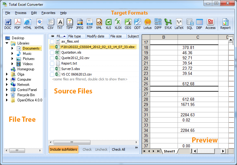Coolutils Total Excel Converter 5.1.225 Multilingual