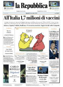 la Repubblica - 10 Novembre 2020