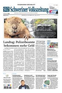 Schweriner Volkszeitung Hagenower Kreisblatt - 23. Oktober 2018
