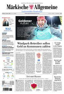 Märkische Allgemeine Luckenwalder Rundschau - 12. Februar 2018