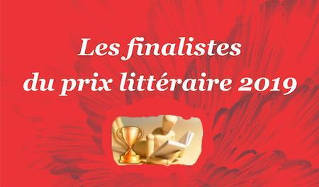 Les finalistes du prix littéraire 2019 - Colection
