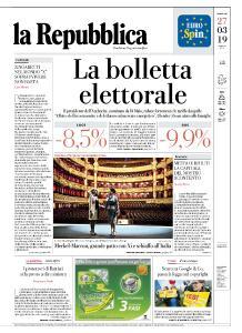 la Repubblica - 27 Marzo 2019