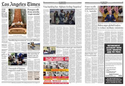 Los Angeles Times – September 18, 2021